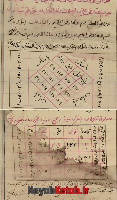دستورالعمل آیات و سوره های قرآنی و طلسمات